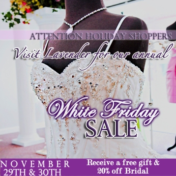 White Friday Bridal Today's Bride copy