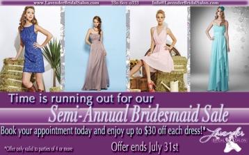 Bridesmaid Reminder bump